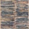 Spine 5 - by Jessica Drenk - torned books - 32 x 16 x 4 inches - year 2013 - at Paia Contemporary Gallery