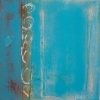 #117 - by Al Schwartz - acrylic on panel- 24 x 24 x 2 inches - year 2012 - at Paia Contemporary Gallery