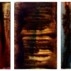 Luna Series # 24 [triptych] - by Alejandro Goya - year 2006 - limited edition print - custom sizes available - at Paia Contemporary
