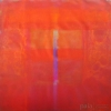 Flame - by 1 Wayan Karja - acrylic on canvas - 35 x 35 inches - 2009 - at Paia Contemporary Gallery