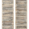 Spine 4 [diptych] - by Jessica Drenk - Torn books - 59 x 20 x 4 inches - year 2013 - at Paia Contemporary Gallery