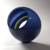 Opaque Concentric - by John Kiley - Glass - 17 x 15 x 17 inches - year 2012 - at Paia Contemporary Gallery