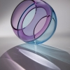 5604 Sky Sphere - by John Kiley - Glass - 15 x 14 x 13 inches - year 2014 - at Paia Contemporary Gallery