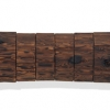Departure III - by Joseph Segal - reclaimed wood & aluminum - 68 x 9.5 x 4 inches - year 2010 - at Paia Contemporary Gallery