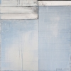 Atlantic - by Mark Zimmermann - mixed media on canvas - 24 x 24 x 1.5 inches - year 2010 - at Paia Contemporary Gallery