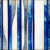 Hydrolapis 11 - by Michael Kessler - acrylic on panel - 40 x 60 inches - year 2013 - at Paia Contemporary Gallery