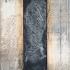 Thuja 2 - by Michael Kessler - acylic on panel - 44 x 79 inches - year 2012 - at Paia Contemporary Gallery
