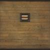 308 Madera Naranja - by Randall Reid - mixed media metal & wood - 14.5 x 15.5 x 2 inches - year ? - at Paia Contemporary Gallery