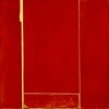 Nijiriguchi # 998 - by Akira Iha - by Akira Iha - Acrylic on Paper - 48 x 48 inches - Year 1998 - at Paia Contemporary Gallery