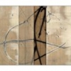 Birch Wood I II & III [triptych] - by Michael Kessler - mixed media on panel - each 20 x 28 x 2.25 inches; overall 20 x 84 x 2.25 - year 2010 - at Paia Contemporary Gallery