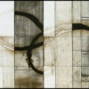 Ecdemic - by Michael Kessler - mixed media on panel - 30 x 96 x  inches - year 2010 - at Paia Contemporary Gallery