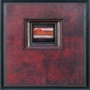 371 Red Forest - by Randall Reid - mixed media metal & wood - 9.5 x 9.25 x 2 inches - year ? - at Paia Contemporary Gallery