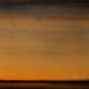 Still 6 -by David Ivan Clark - oil & alkyd on stainless steel - 16 x 46 x 2 inches - year 2010 - at Paia Contemporary Gallery