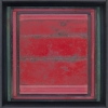1488 Red World - by Randall Reid - mixed media - 7 x 6 x 2 inches - year 2014 - at Paia Contemporary Gallery