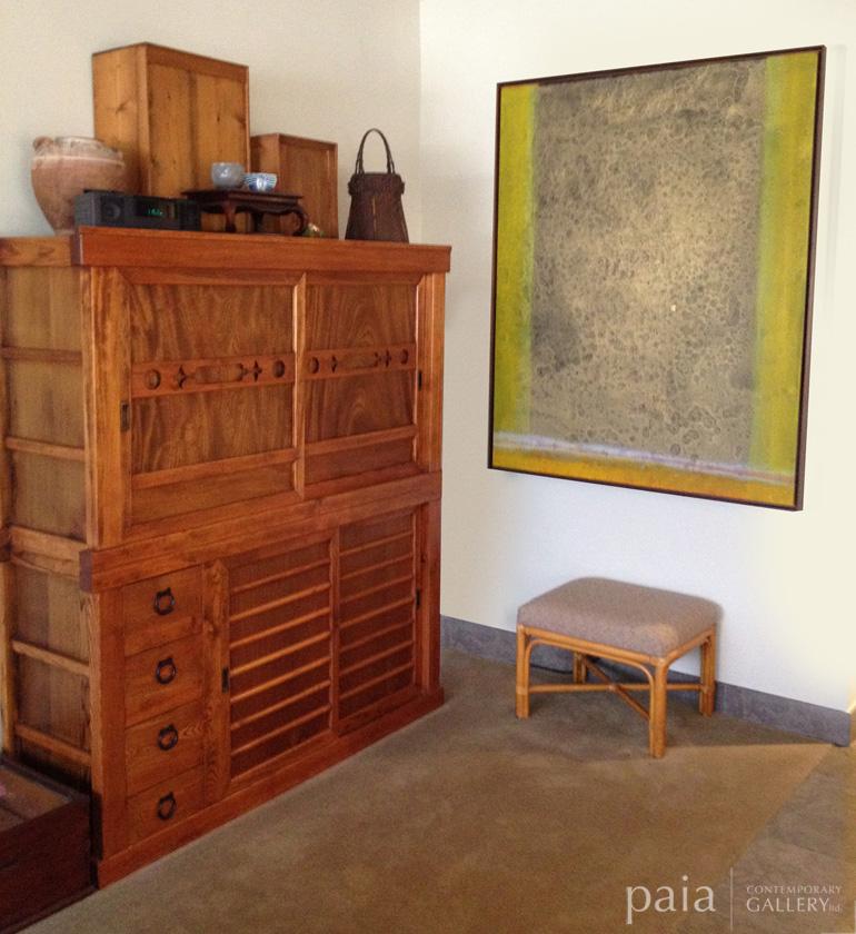 Abstract artwork by artist 1 Wayan Karja at Paia Contemporary Gallery, a Maui art gallery Hawaii