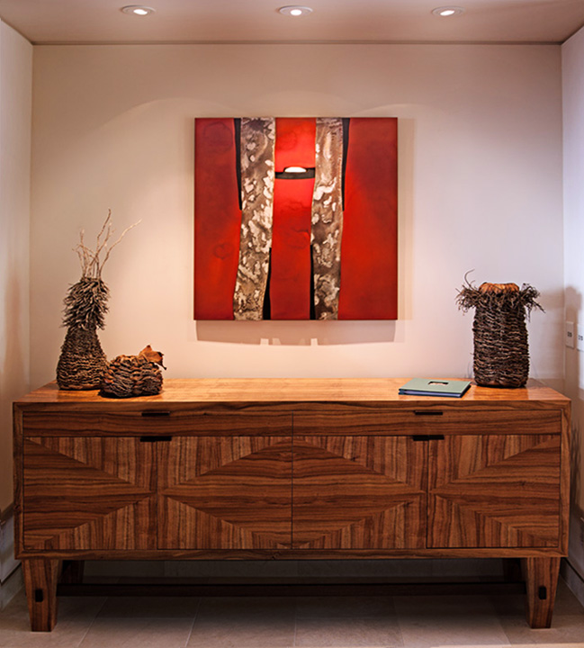Abstract sculpture by sculptor Pascal at Paia Contemporary Gallery, a Maui art gallery Hawaii