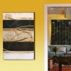 Abstract artwork by artist Michael Kessler at Paia Contemporary Gallery, a Maui art gallery Hawaii