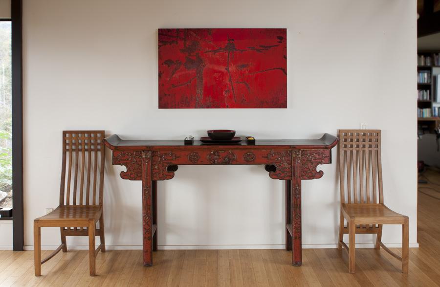 Abstract artwork by artist Kenn Briner at Paia Contemporary Gallery, a Maui art gallery Hawaii