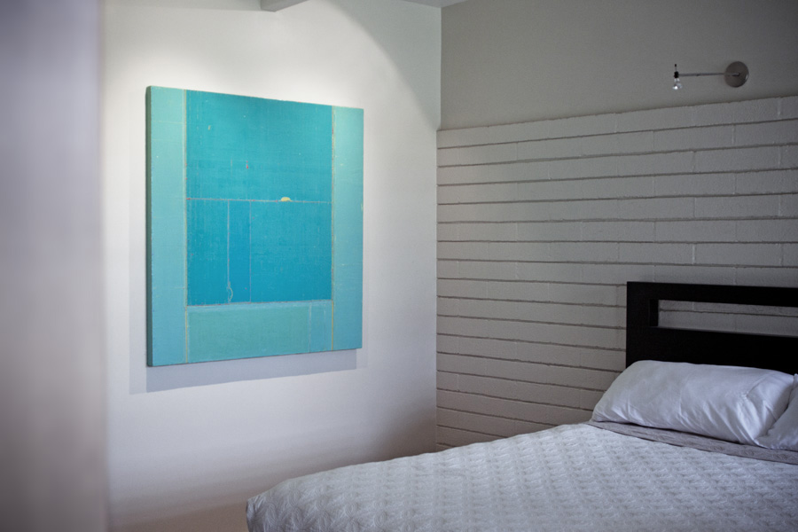 Abstract artwork by artist Akira Iha at Paia Contemporary Gallery, a Maui art gallery Hawaii