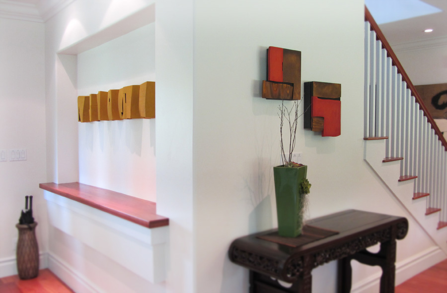 Abstract sculpture by artist Pascal at Paia Contemporary Gallery, a Maui art gallery Hawaii