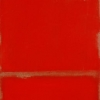 Florentine Red - by Tony Walholm - oil on canvas - 48 x 18 x 3 inches - year 2005 - at Paia Contemporary Gallery
