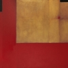 Red Opus - by Tony Walholm - oil on canvas - 48 x 60 x 1.5 inches - year 2009 - at Paia Contemporary Gallery