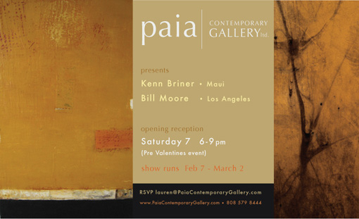 Kenn Briner & Bill Moore Exhibition