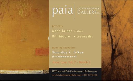 Kenn Briner & Bill Moore Exhibition
